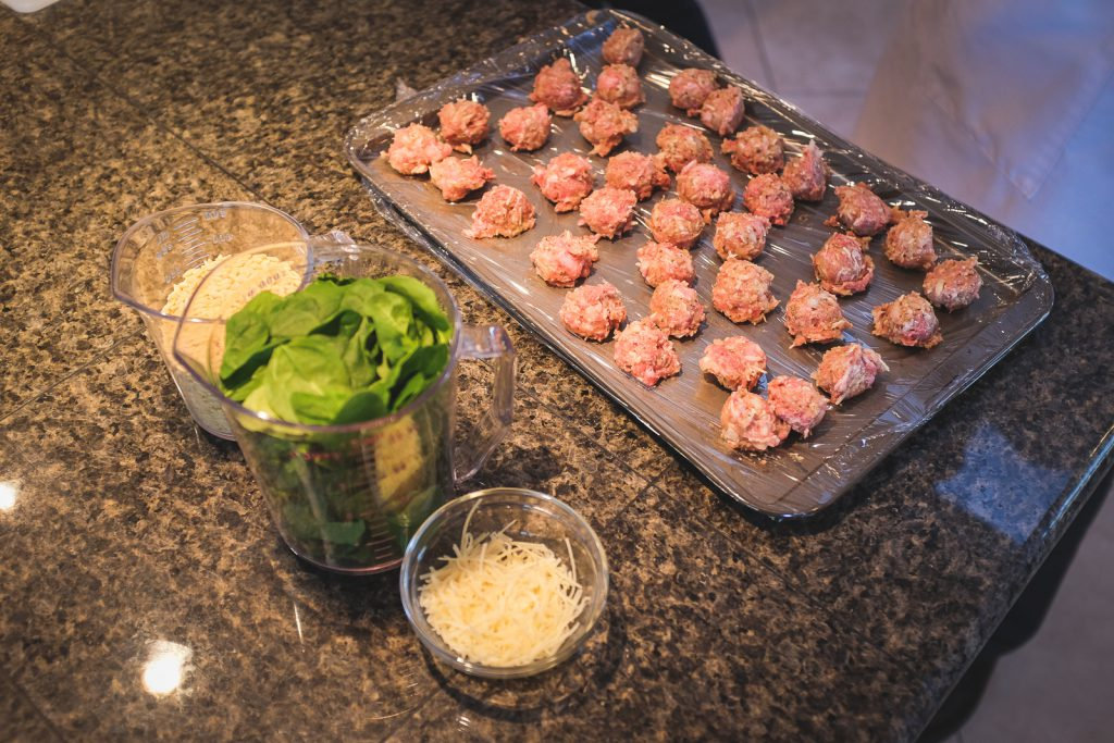 Chef Becky's Asparagus Ham Phyllo Bundles and Italian Wedding Soup episodes