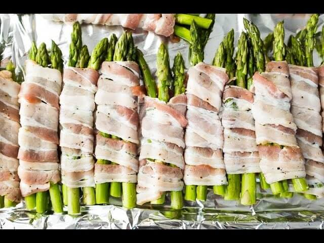Chef Becky's Bacon Wrapped Asparagus for your Grill