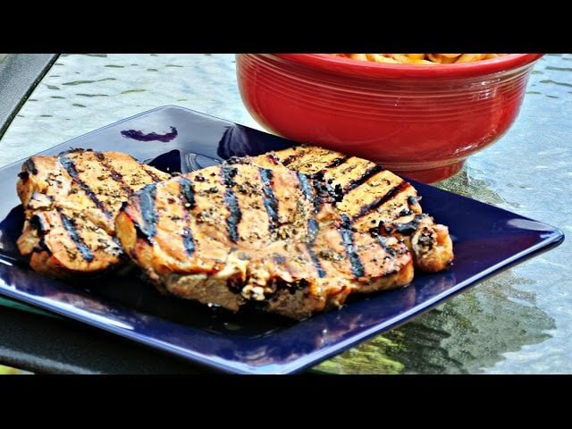Chef Becky's Beer Brined Pork Chops with Deshutes Black Butte Porter