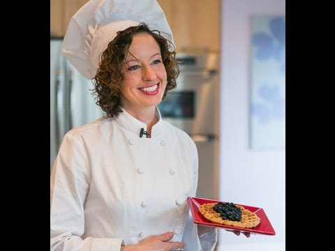 Chef Becky's Waffles Blueberry Sauce:  My 50th Episode!