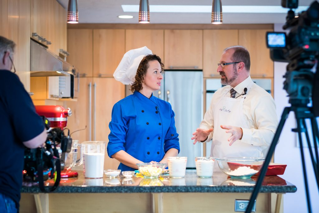 Chef Becky's Chocolate Lava Cakes and Biscuits and Gravy episodes