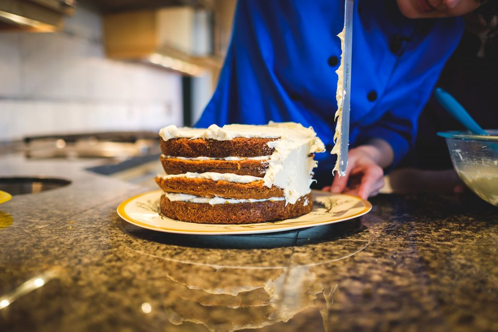 Chef Becky's Chicken Skewers and Carrot Cake episodes