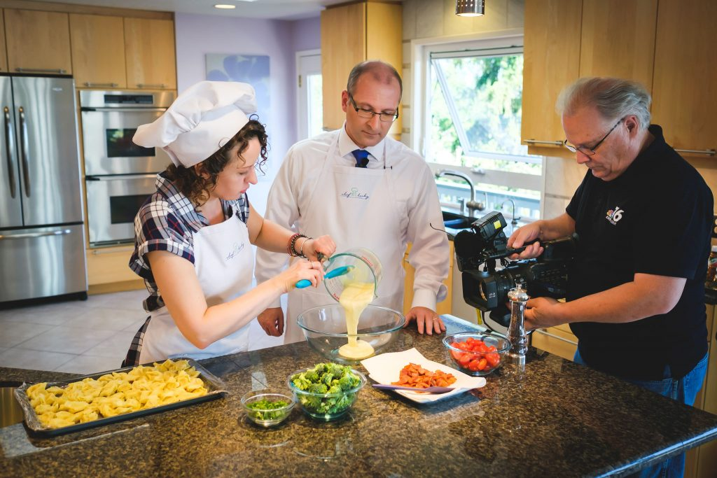 Chef Becky's Tortellini Salad and Elone episodes