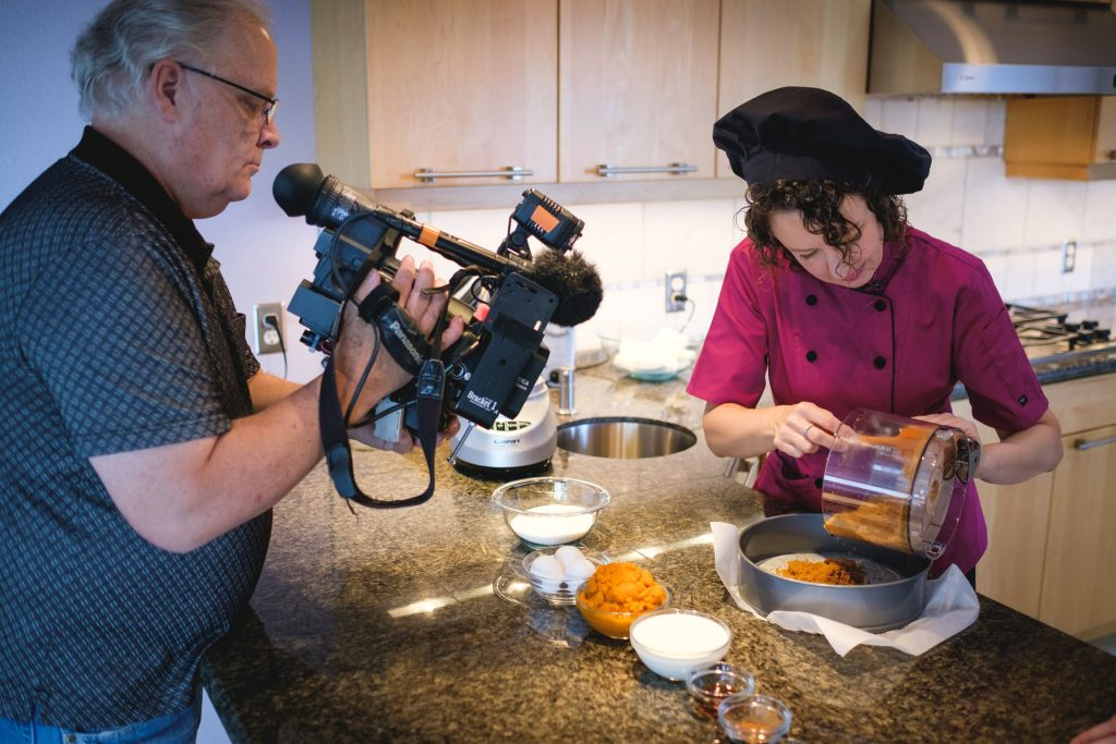 Chef Becky's Pumpkin Spice Cheesecake and Barbacoa Taco episodes