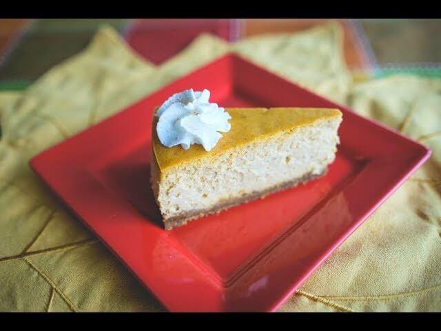 Chef Becky's Pumpkin Cheesecake, a Thanksgiving Favorite!